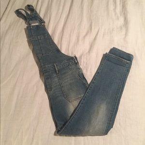 Side Zip Overalls